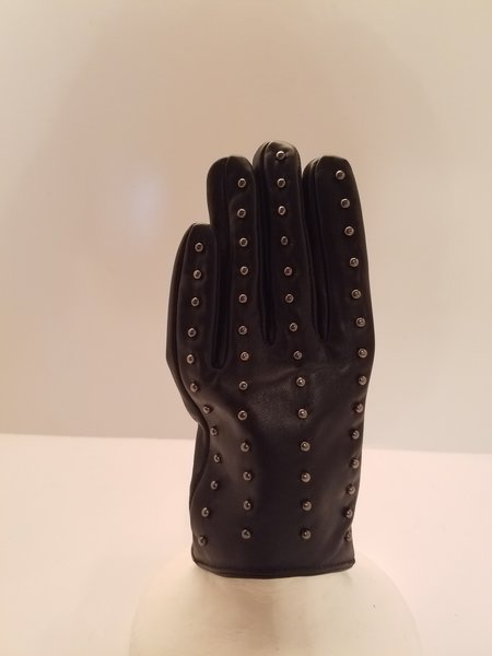 Studed Leather Cloves (AT44BLST)