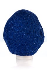 Small Sequin Snood-Cobalt (AT02CBL)