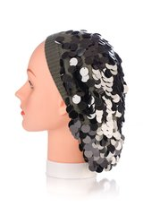 Large Sequin Snood-Grey (AT30GYU)