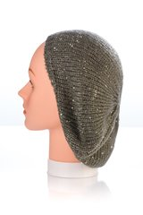 Knit Mini Sequin Snood-Grey (AT12GYU)
