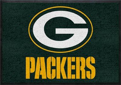 Green Bay Packers Logo Mat Entrance Mats Anti Fatigue