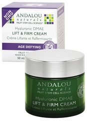 ANDALOU NATURALS HYALURONIC DMAE LIFT & FIRM CREAM - AGE DEFYING 50ML