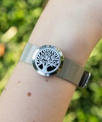 Autumn Stainless steel aromatherapy essential oil diffusing bracelet