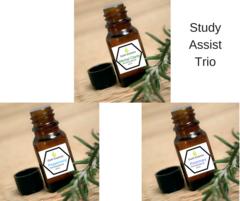 Earth Essence. Study Assist Trio 3 x 15 ml