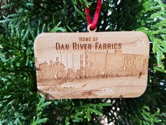 White Mill Dan River Reclaimed flooring ornament