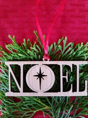 Noel Christmas Ornament