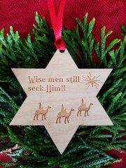 Wise Men Star Christmas Ornament