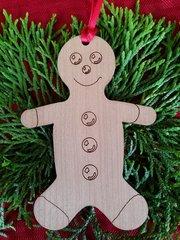 Gingerbread Man Christmas Ornament