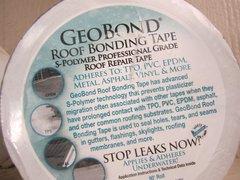 "Geocel Roof Bonding Tape - GeoBond 4""x50' White"