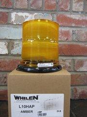 Whelen High Dome Perm/Pipe Hook Mount 12VDC Amber SUPER LED Beacon
