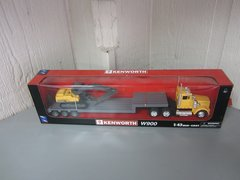 Kenworth W900 with Lowboy Trailer