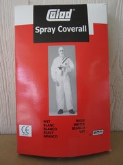 Nylon Spray Coverall - Size Large