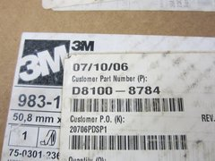 """3M White Conspicuity Tape 983-1/D8100-8784/18676RFL 2""""X150'"""