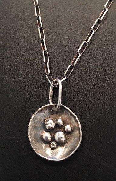 Mirabella jewelry sterling silver jewelry hand forged mirabella sterling silver birds nest pendant aloadofball Choice Image