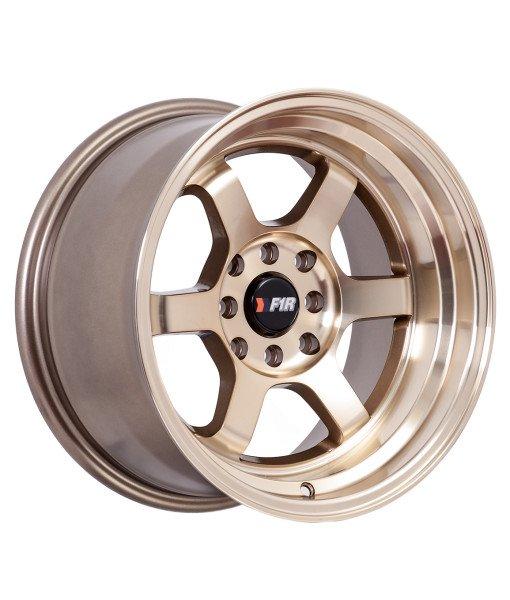 F1r Wheels F05 Machine Bronze 15x8 0 Offset Silly Slow Miata