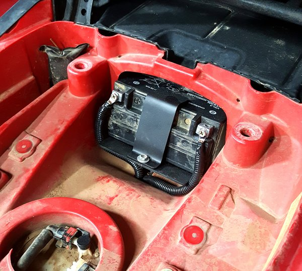 Yamaha Grizzly Battery Relocate Kit N2deep Customs