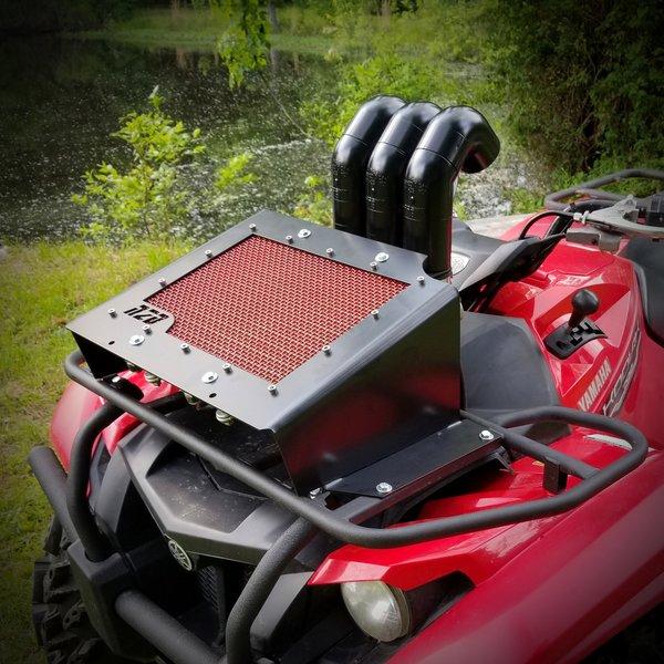 Yamaha Grizzly Radiator Relocation Kit