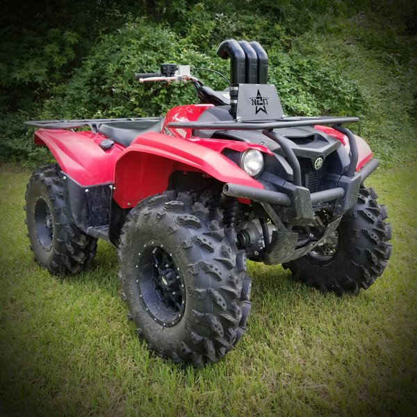 Yamaha grizzly kodiak 700 snorkel kit n2deep customs for Yamaha kodiak 700 review