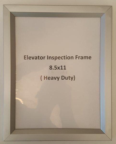 Elevator Notice Frame Regular Paper Size Your Official