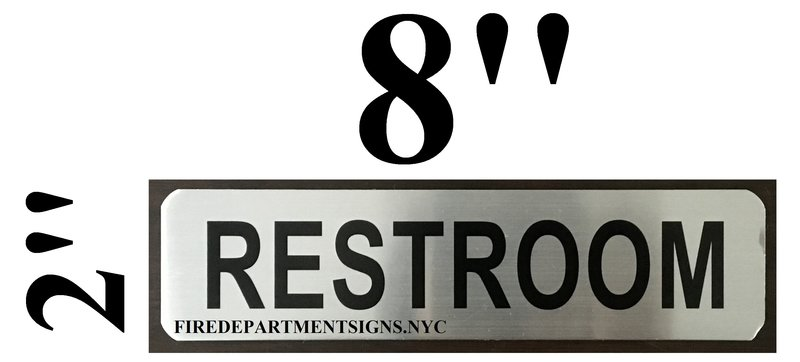 DOB SIGN RESTROOM SIGN HEAVY DUTY ALUMINUM SIGN FOR USE IN NYC - Professional bathroom signs