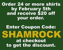 YOU MUST ENTER THE COUPON CODE AT CHECKOUT TO GET THE EARLY ORDER DISCOUNT