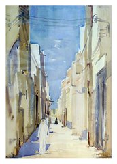 "#138.1 Kuwait Street, Kuwait/63 - 20""x28"", Limited edition reproduction on paper, framed"