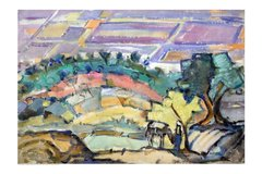 """#238.1 Pastorale, Syrie - 30""""x20"""", Limited edition reproduction on paper, framed"""