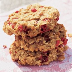 Cranberry and Peanut Butter Cookies