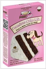 Puppy Cake Carob Cake Mix and Frosting