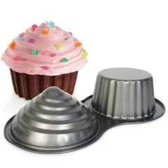 Giant Non Stick Cupcake Baking Pan Mould - Make One Big Cupcake!