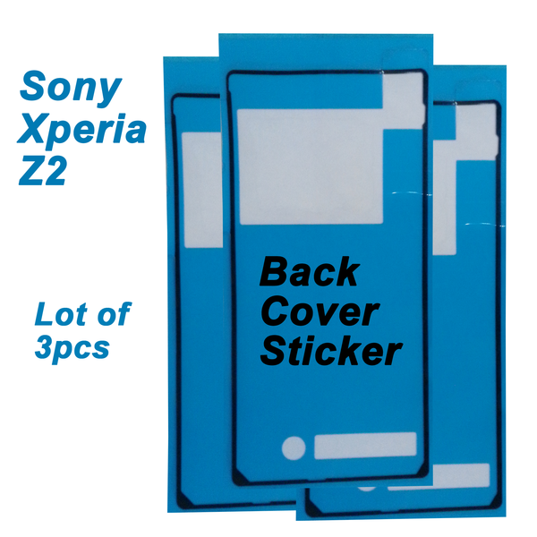 Sony Xperia Z2, Z3,Series Battery Back Glass Cover Adhesive Sticker