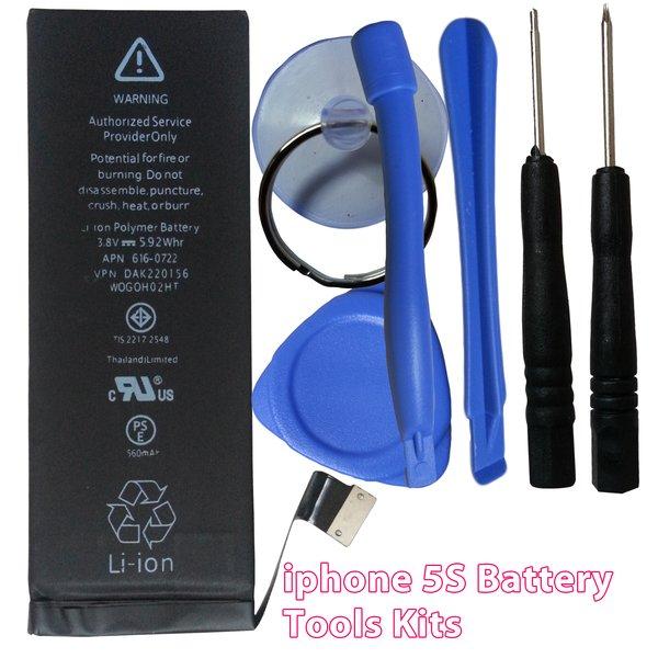 Apple iPhone 5S Internal Battery 616-0722 1560mAh + Tools Kits