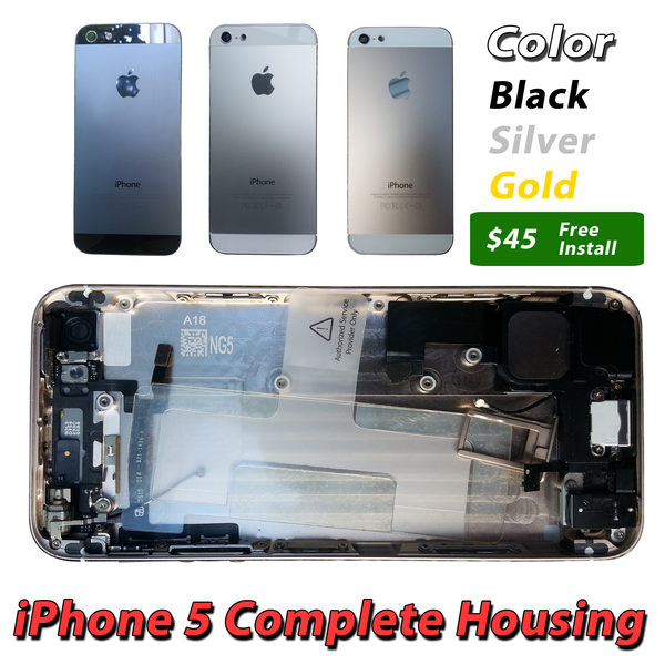 Apple iPhone 5 Complete Housing
