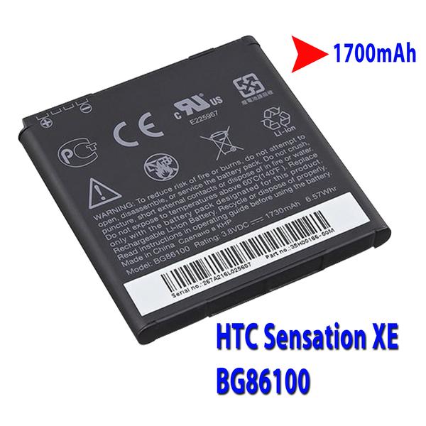 HTC Sensation XE Battery BG86100 1700mAh