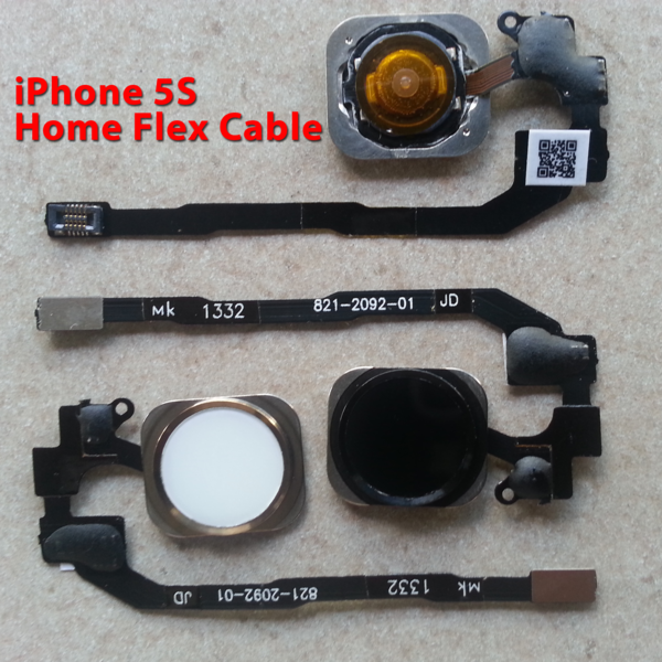 Apple iPhone 5S Home Button Flex Cable Replacement