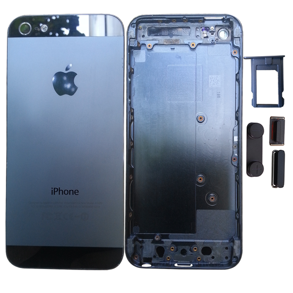 Apple iPhone 5 / 5S Back Housing include Sim Tray & 3 Key Button