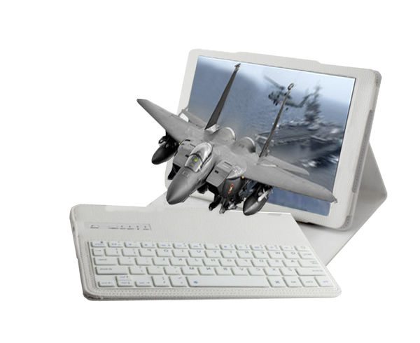 "MAESTRO 10"" 3d Glasses-Free Android PC Tablet includes slate gray bluetooth keyboard, cover and stylus.    In stock, SHIPS IMMEDIATELY"