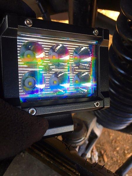 56 Quot Rainbow Grid Transparent Film Kit Color Film Led