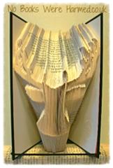 Steve The Stag.  Yes.  Steve : : Scottish countryside, wildlife : : Hand Folded Book Art