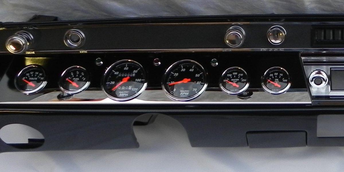 1967 Chevelle Dash