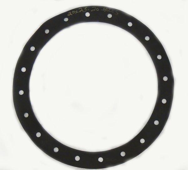 Cen-Tex Flat Neoprene Gasket For Flush Round Bolted Plate Manhole ...