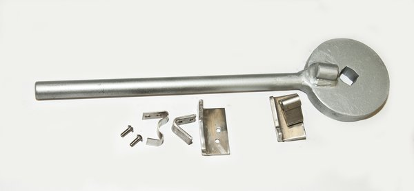 Mechanism Wheel Lever : Cen tex lever substitute for handwheel with lock mcs