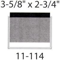 "Self Adhesive Pockets - 3 5/8"" X 2 3/4"""