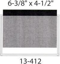"Self Adhesive Pockets - 6 3/8"" X 4 1/2"""