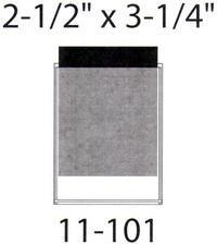 "Self Adhesive Pockets - 2 1/2"" x 3 1/4"" (100 Pack)"