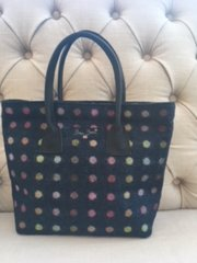 Blu Beri Tweed Grab Bag - Navy Spot W23