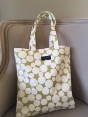 Blu Beri Oil Cloth Shopper - OL32