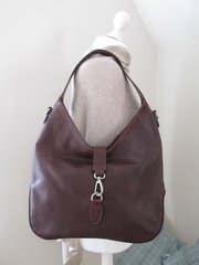 Italian Antique Leather Shoulder Bag L46
