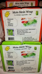 Moin Moin Wrap 3 packs(large) Green