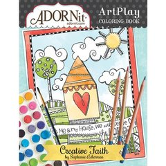 Creative Faith Art Play Coloring Book - Stephanie Ackerman